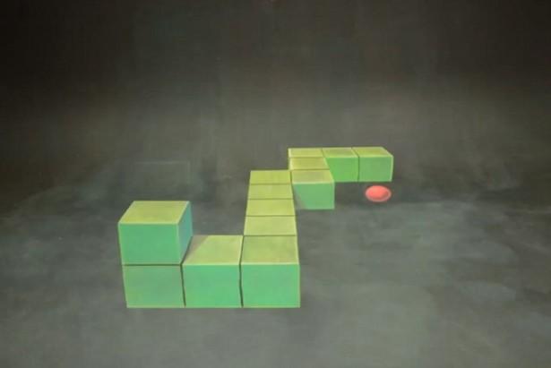 3D-kunst met krijt
