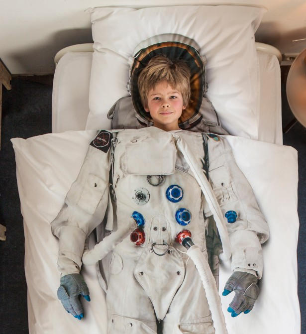 Dekbed voor (wannabe) astronauten
