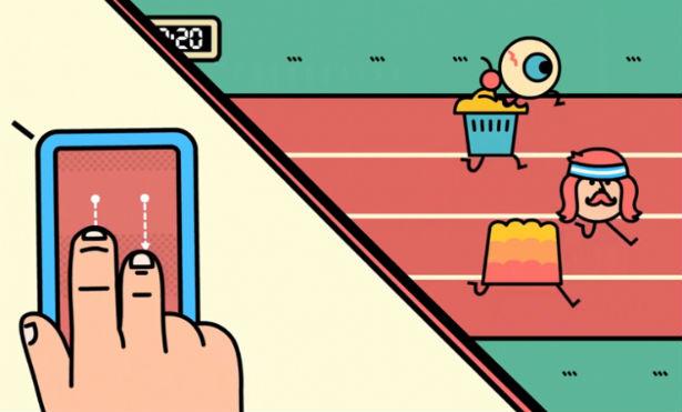 Google's browsergame bestuur je met je smartphone