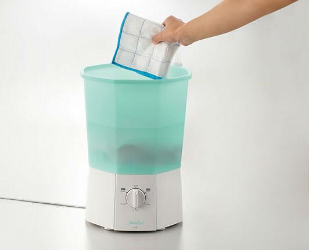 Een wasmachine voor mini-wasjes