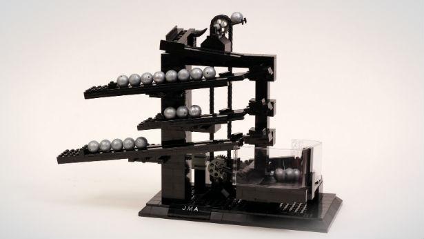 Klok Van Lego Vertelt De Tijd Met Balletjes Freshgadgets Nl