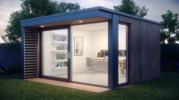 Mini Pod: een kantoor voor in de tuin