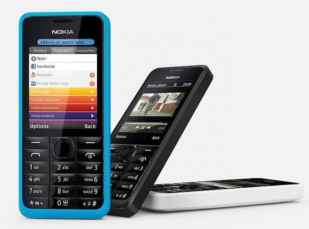 Nokia 105: 15 euro, 35 dagen op standby