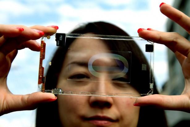 Doorzichtige schermen: de toekomst van smartphones?