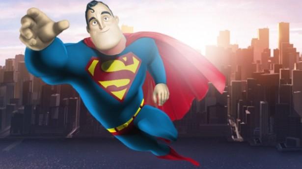 Superhelden als Pixar-karakters