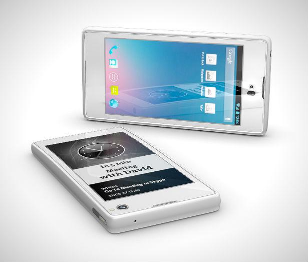 YotaPhone: smartphone met twee schermen