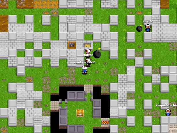 Bombermine: online Bomberman tegen 1000 spelers