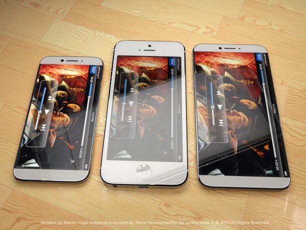 iPhone 6 concept met 4.8 inch scherm