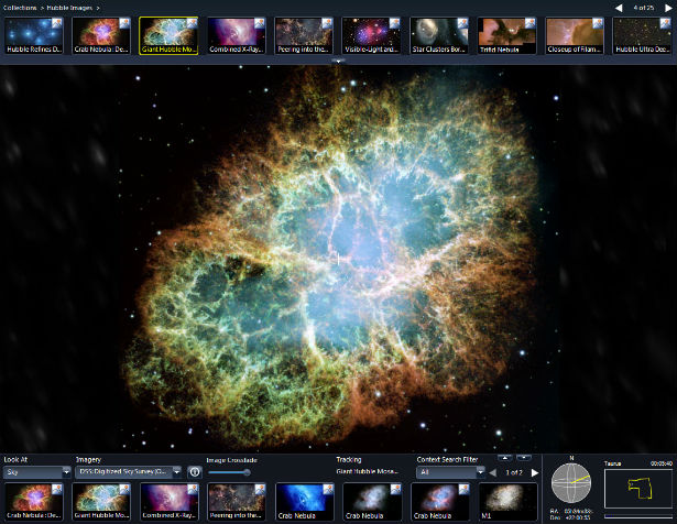 Bezoek het heelal met Microsoft Worldwide Telescope