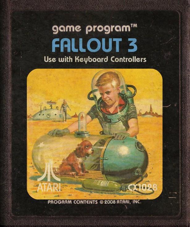 Moderne videogames als Atari-cartridges