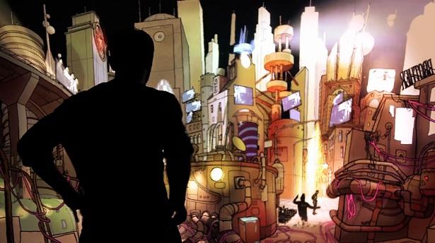 Extrapolis: muurtekening met augmented reality