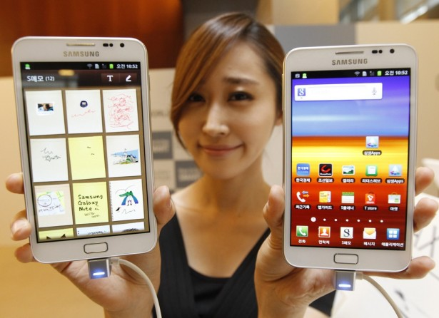 Samsung Galaxy Mega: gigantische smartphone
