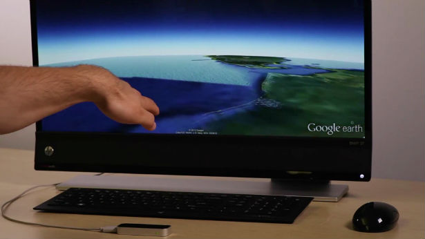 De wereld in je handen met Google Earth en Leap Motion