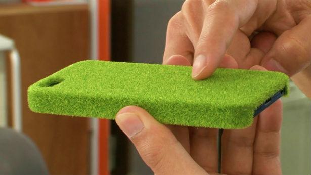 Een grasmat voor je iPhone