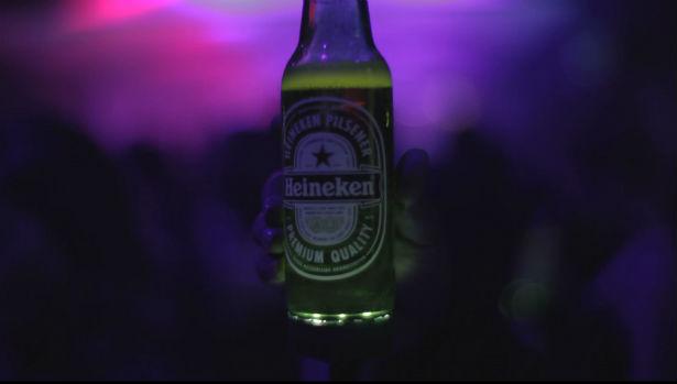 Heineken Ignite: interactieve bierflesjes