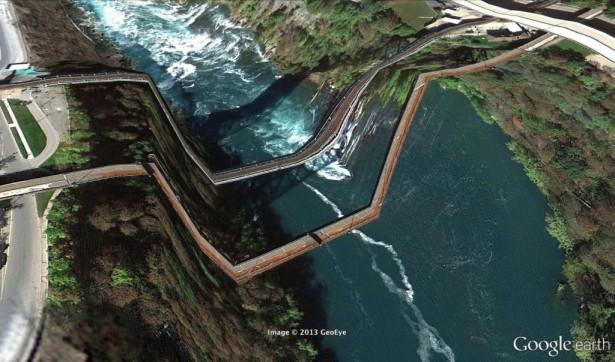 De mooie fouten in Google Earth