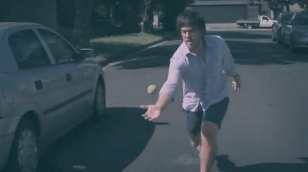 Motion-tracking met een tennisbal