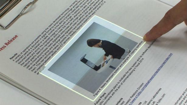 Uitvinding maakt touchscreen van papier