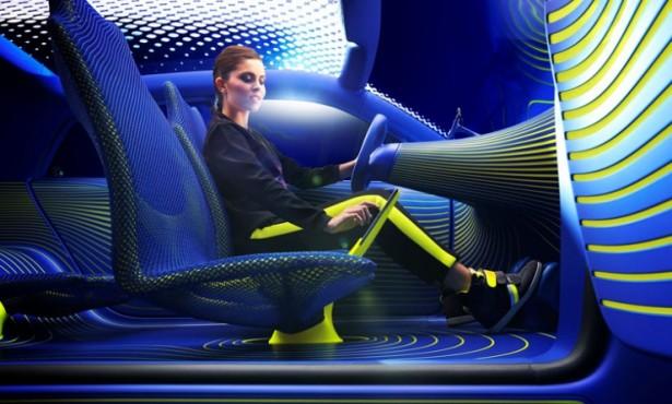 Futuristische concept car van Renault
