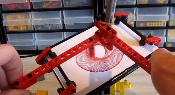 Een spirograaf van LEGO