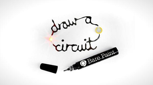 Bare Paint: verf die elektriciteit geleidt