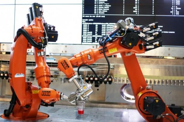 Makr Shakr: cocktails gemaakt door robots