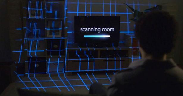 Microsoft IllumiRoom wekt kamers tot leven