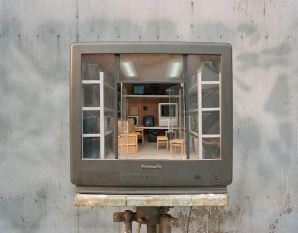 Ouderwetse tv's als schitterende kijkdozen