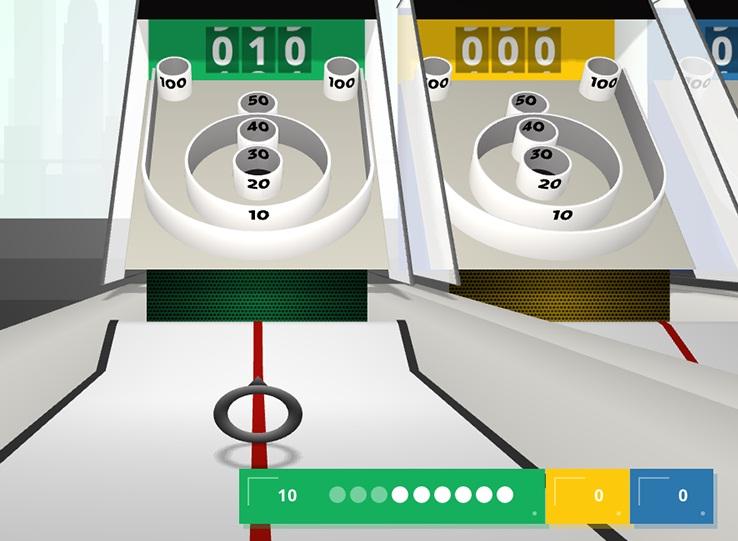 Skee-Ball met je smartphone als controller