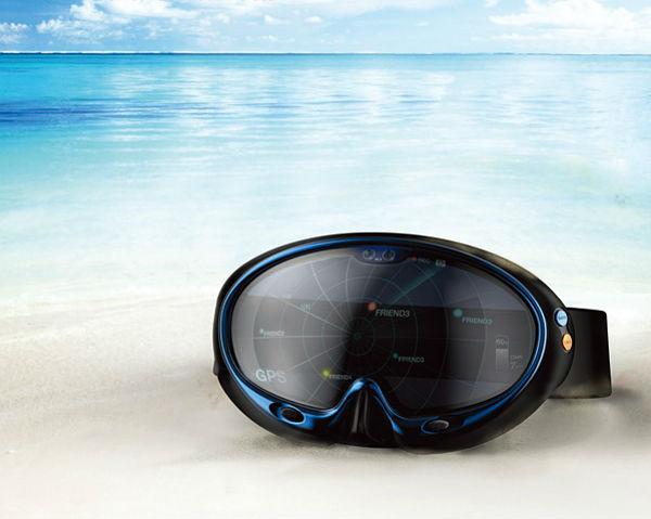 Slimme duikbril voor meer onderwaterpret