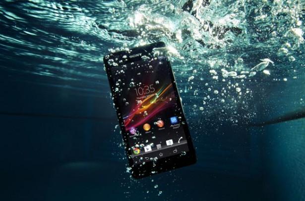 Sony Xperia ZR: waterdichte smartphone