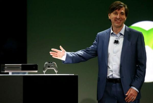 Lachen om de presentatie van de nieuwe Xbox