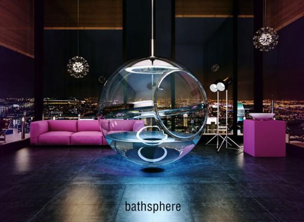 Bathsphere: het hangende bad