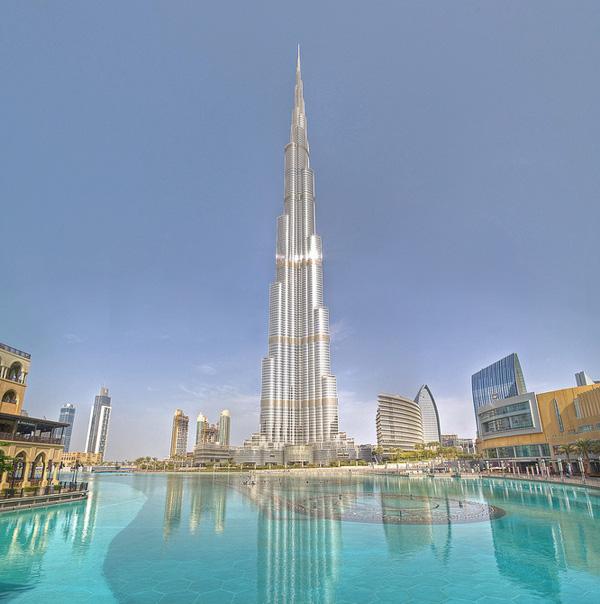 Het hoogste gebouw ter wereld op Google Streetview