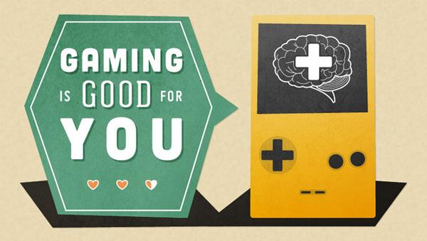 Infographic: waarom het spelen van games goed voor je is