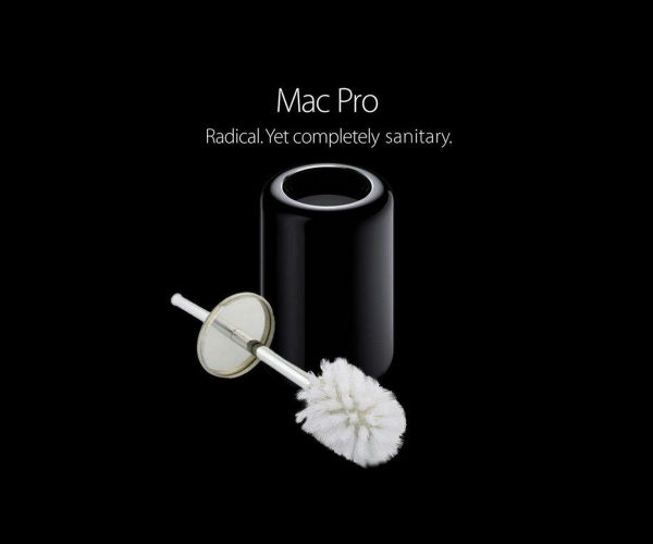 Lachen om Apple's Mac Pro