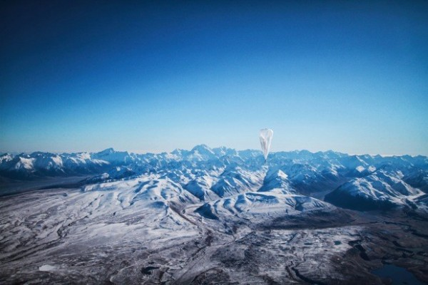 Google´s Project Loon: Wi-Fi via luchtballonnen