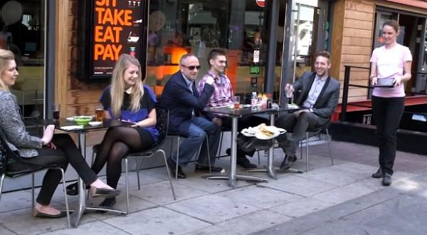 Brits restaurant gebruikt quadrotors om het eten te serveren
