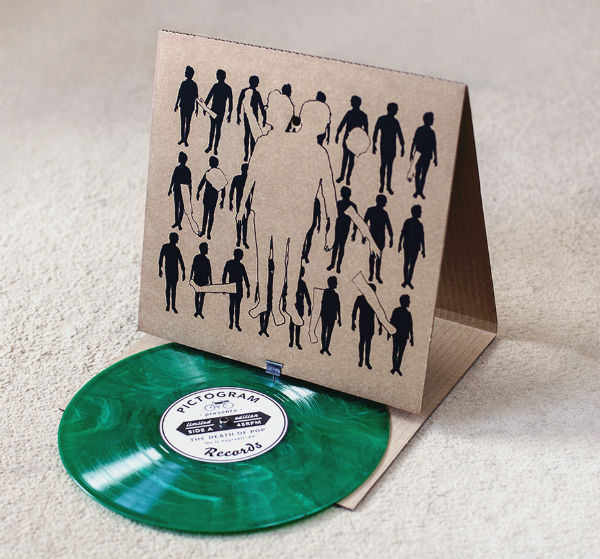 Soundbox: een platenspeler van karton