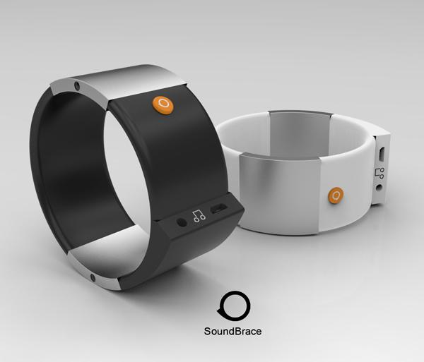 Soundbrace: een muzikale armband