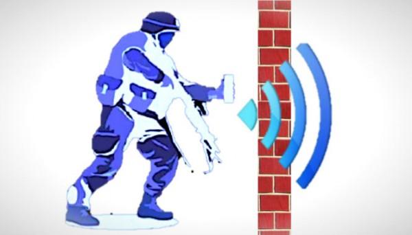 Door muren kijken met Wi-Fi