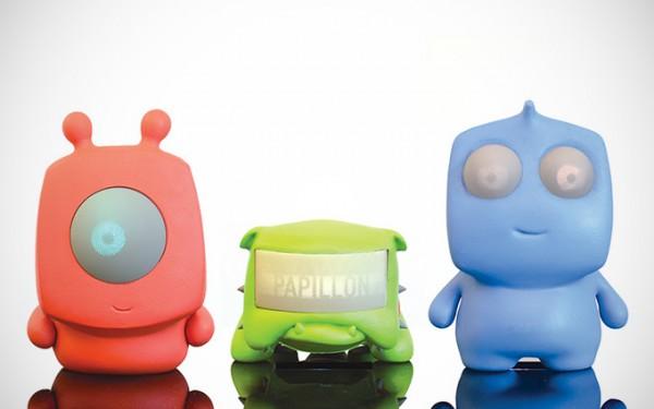 Binnenkort: kinderspeelgoed met displays als ogen