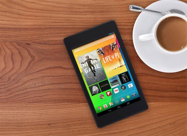 De nieuwe Nexus 7 tablet heeft een geweldig scherm