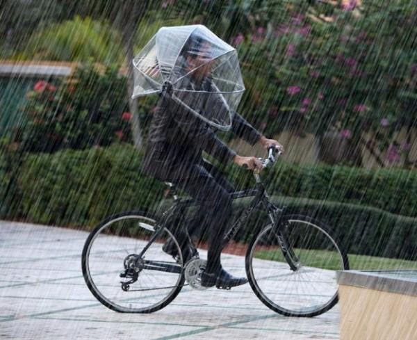 Nubrella: handsfree paraplu