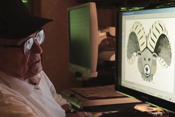 Deze 97-jarige kunstenaar maakt prachtige schilderijen met Paint