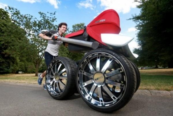 De stoerste kinderwagen ter wereld