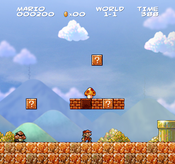 Fan maakt Super Mario Bros in HD