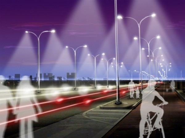 Energiebesparende straatverlichting gaat alleen aan als het nodig is