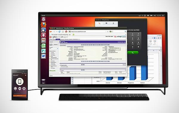 Ubuntu Edge: smartphone en desktopcomputer in één