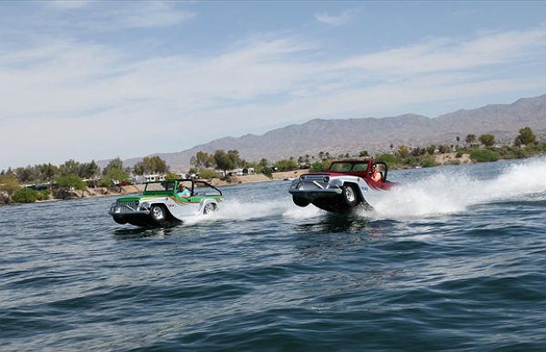 WaterCar Panther: 's werelds snelste auto die ook kan varen